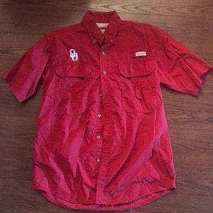 Magellan OU crimson shirt